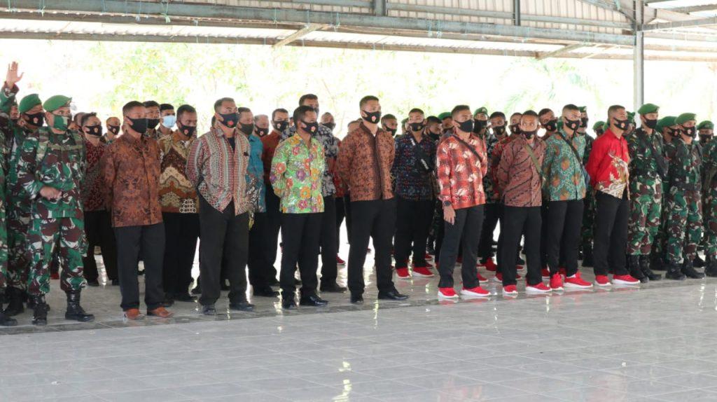 Sinergitas Polda Banten Bersama Korem 064/MY, Amankan Kunjungan Wapres Di Tanara