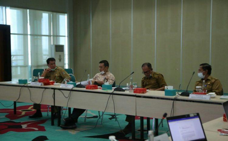 Pemerintah Kota Tangerang Selatan Gandeng (KPK) Bahas Aset Pemekaran