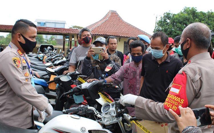 Unit Reskrim Polsek Paku Haji Berhasil Menangkap Empat Kriminal Curanmor Dan Tiga Penadah