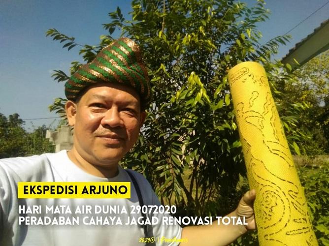 "Peradaban Cahaya Jagad Renovasi ""Mandala Batu Penjuru"" Untuk Menyongsong Hari Mata Air Dunia 29-07-2020"