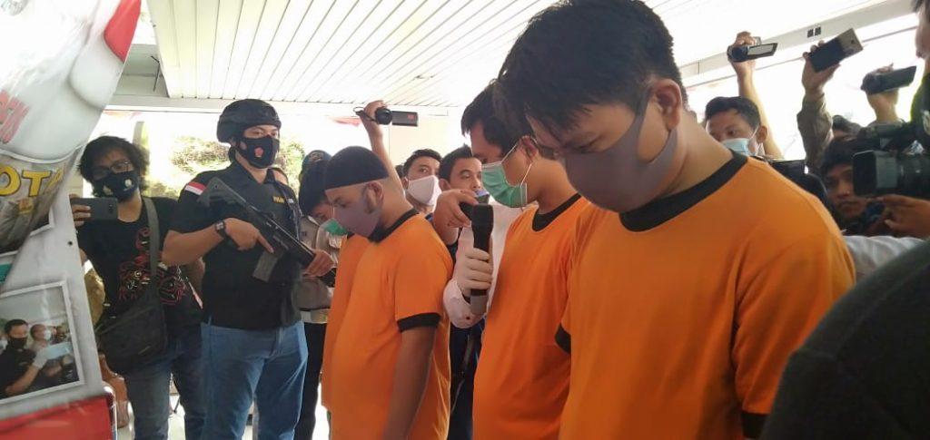 Polres Metro Tangerang Kota Ringkus Jaringan Bandar Narkotika Jenis Sabu