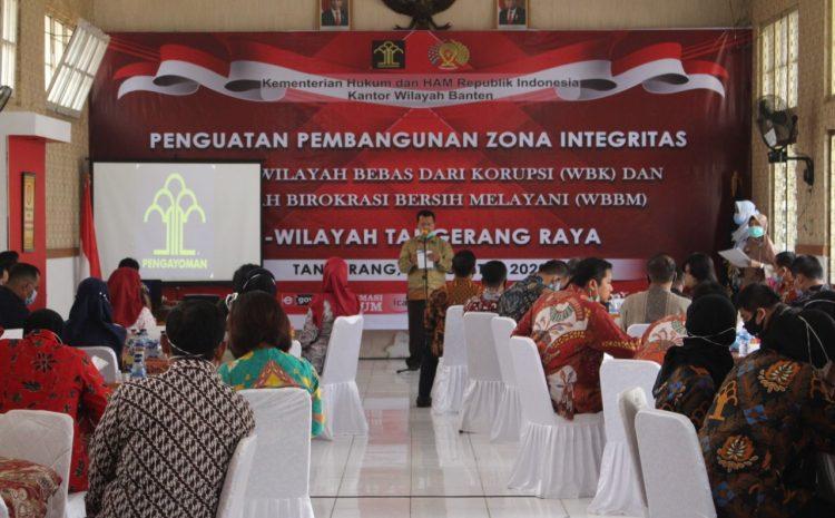 Lapas Pemuda Tangerang Jadi Tuan Rumah Kegiatan Simulasi Penguatan Pembangunan Zona Integrasi