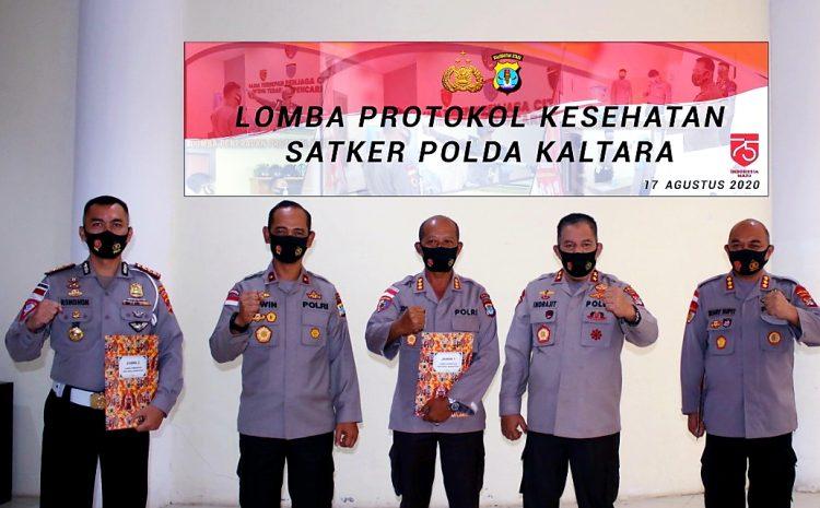 Kreatif, Polda Kaltara Gelar Lomba Implementasi Protokol Kesehatan