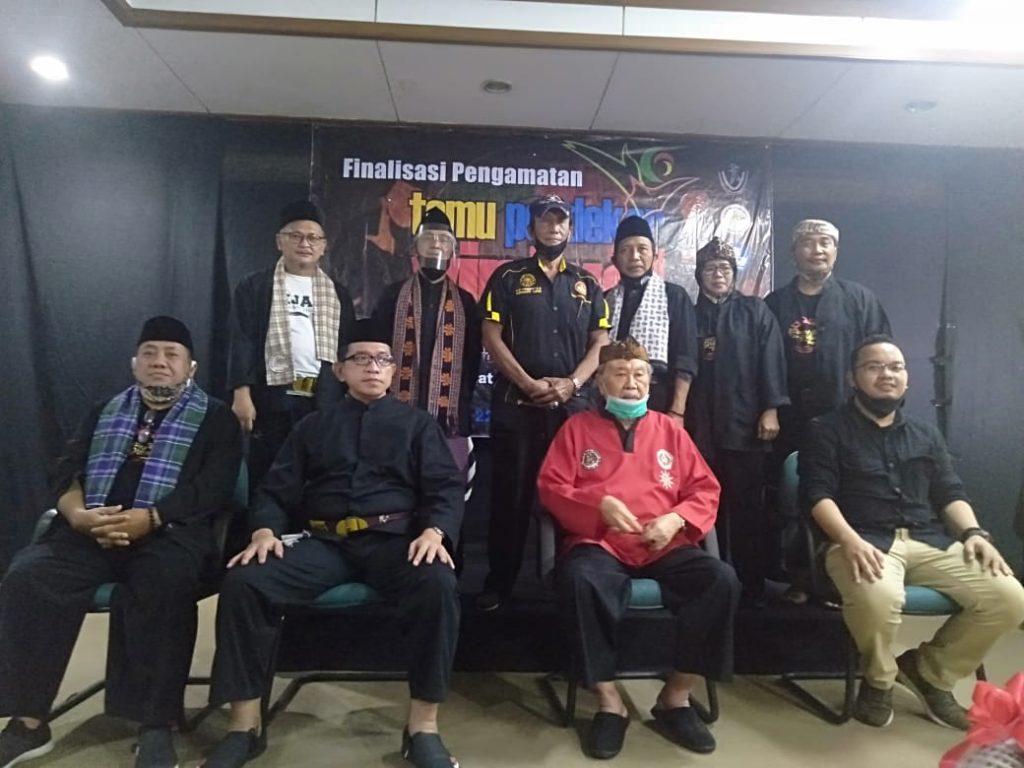 H.Anwar Al-Batawi Korwil MASPI DKI Jakarta.Adakan Temu Pendekar Internasional Secara Virtual