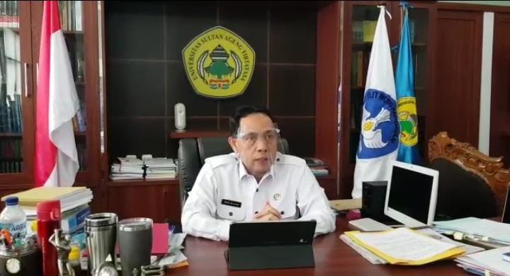 Rektor Untirta Ajak Masyarakat Patuhi Protokol Kesehatan