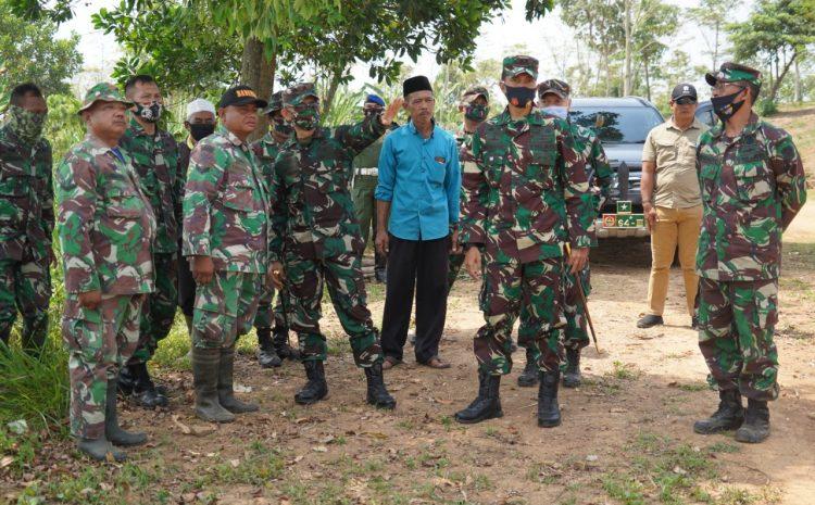 Korem 064/MY Sediakan Seratus Hektar Lahan Untuk Demplot Ketahanan Pangan