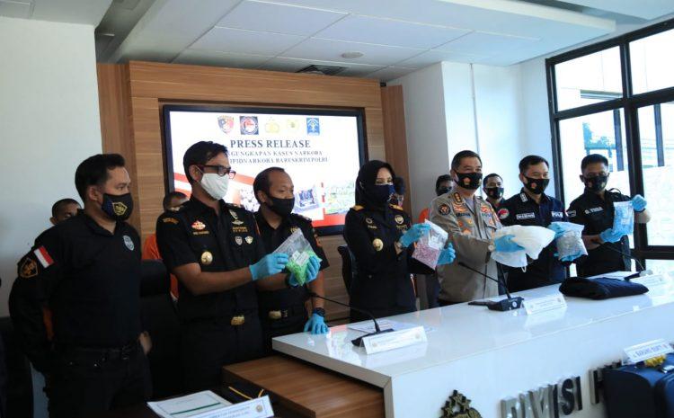 Pengungkapan Narkotika Jenis Ekstasi Jaringan Sindikat Narkoba Belanda-Makassar