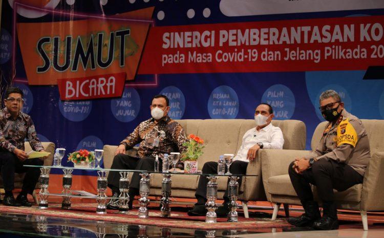 Bersinergi Berantas Korupsi, Kapolda Sumut Talk Show Bersama Ketua KPK RI Dan Gubernur Sumut