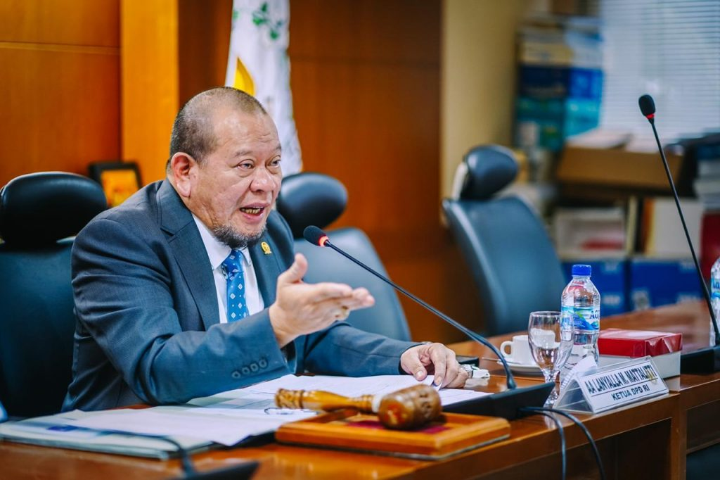Ketua DPD RI Ingatkan Komite Pemulihan Ekonomi Untuk Belajar Dari Dana Otsus Aceh