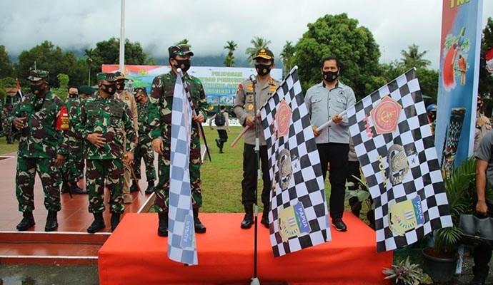 Panglima TNI dan Kapolri Pimpin Rapat Penanganan Covid-19 di Provinsi Papua