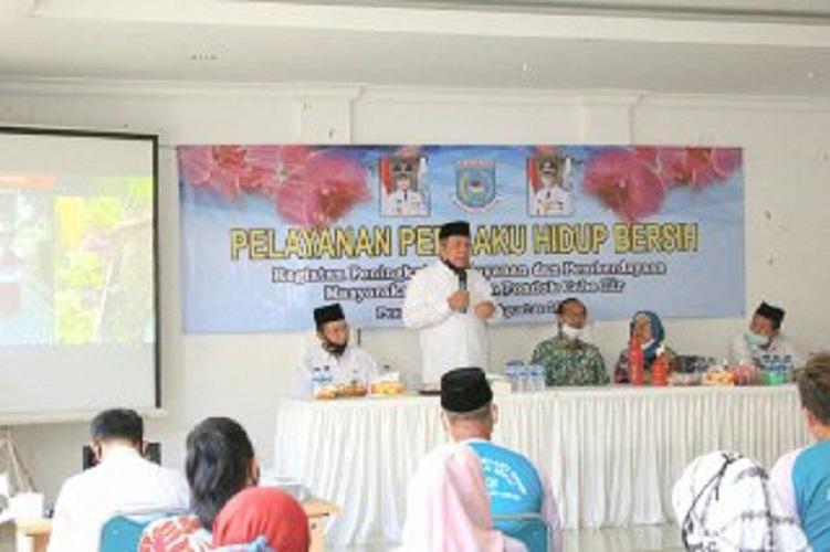 Wakil Walikota Benyamin Davnie Ajak Warga Terapkan Perilaku Hidup Bersih