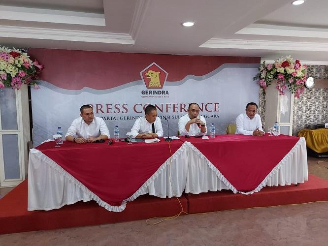 DPD Gerindra Sulawesi Tenggara, Kerja Maksimal Menangkan Paslon Yang Bakal Diusung