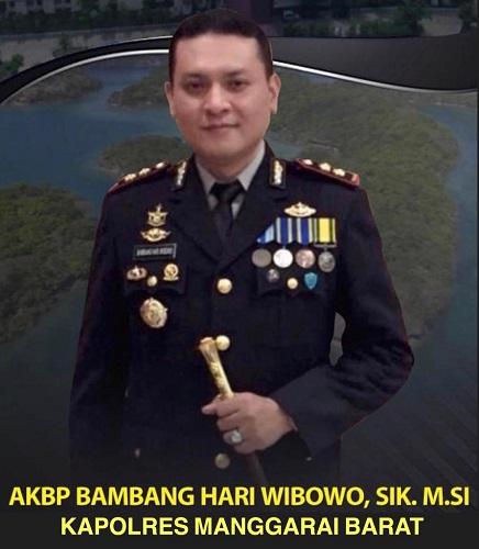 AKBP Bambang Hari Wibowo, S.IK., M.Si Resmi Menjabat Kapolres Manggarai Barat Polda NTT