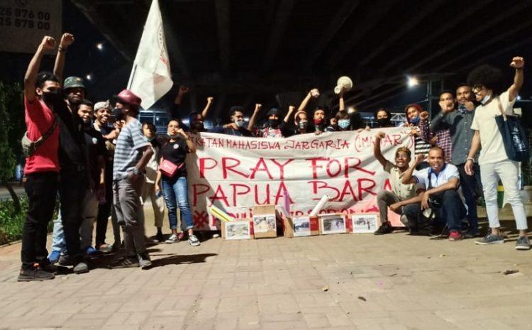 Ikatan Mahasiswa Jar-Garia Jakarta (IMAJAR) Lakukan Aksi Penggalangan Dana Untuk Banjir Bandang Sorong Papua Barat