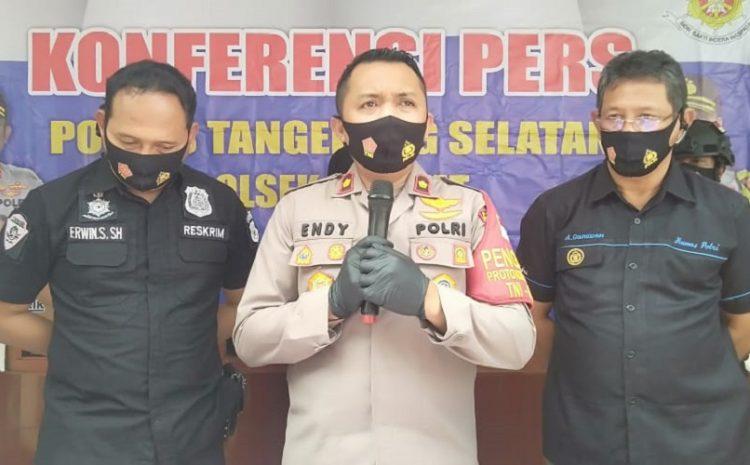 Polsek Ciputat Ungkap Kasus Pembakaran Rumah Akibat Cemburu