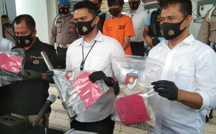 Polres Tangerang Selatan Berhasil Mengungkap Tindak Pidana Pemerkosaan Dan Pencurian Dengan Kekerasan