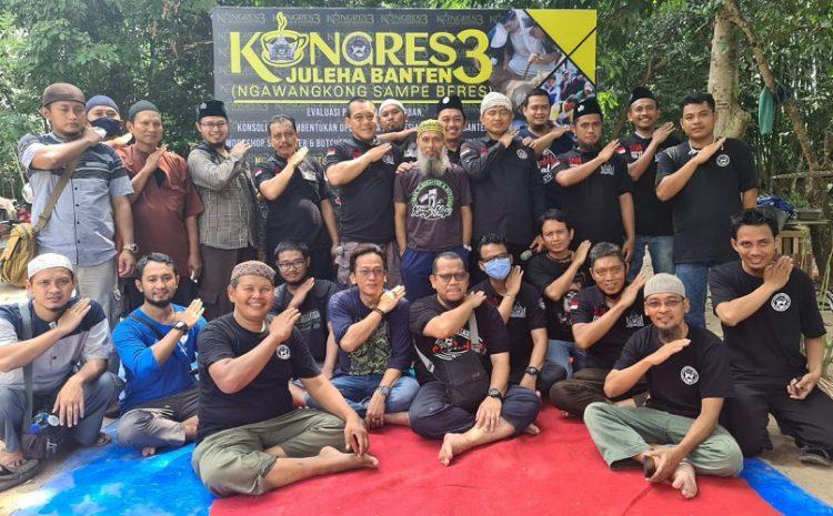 """Kongres Juleha Banten #3"" Komunitas Juru Sembelih Halal Atau Disingkat JULEHA Wilayah 8 Provinsi Banten"