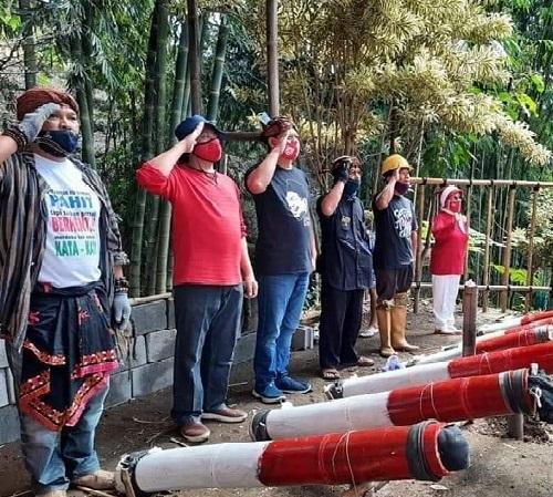 'SABERS PUNGLI BATU' Pelopor Dentuman Kemerdekaan Kebersihan Sungai & Sumber Mata Air Di Kota Batu Malang Raya