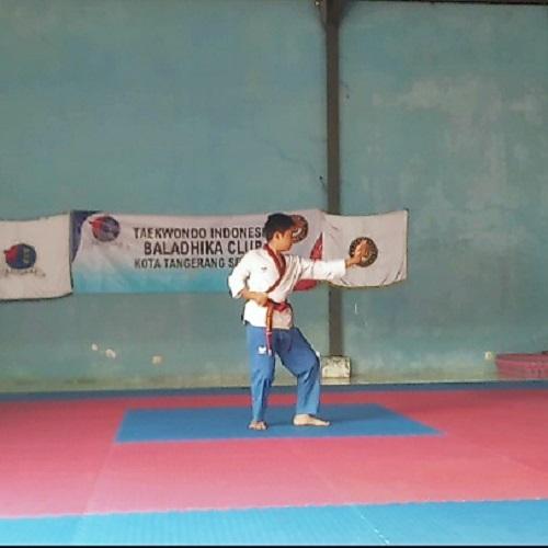 25 Atlet Taekwondo Indonesia Baladhika Club Kota Tangerang Selatan Ikuti Kejuaraan Indonesia Poomsae Championship 2020