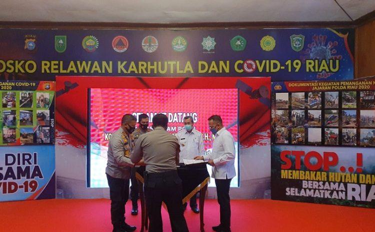 PTPN V Tandatangani Kesepakatan Bersama Kapolda Riau Disaksikan Kabaharkam Polri