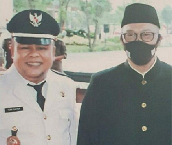 Setelah Pelantikan Sekda Baru Di Puspemkot Tangsel, Lurah Tomy Patria Edwardy Mengucapkan Selamat