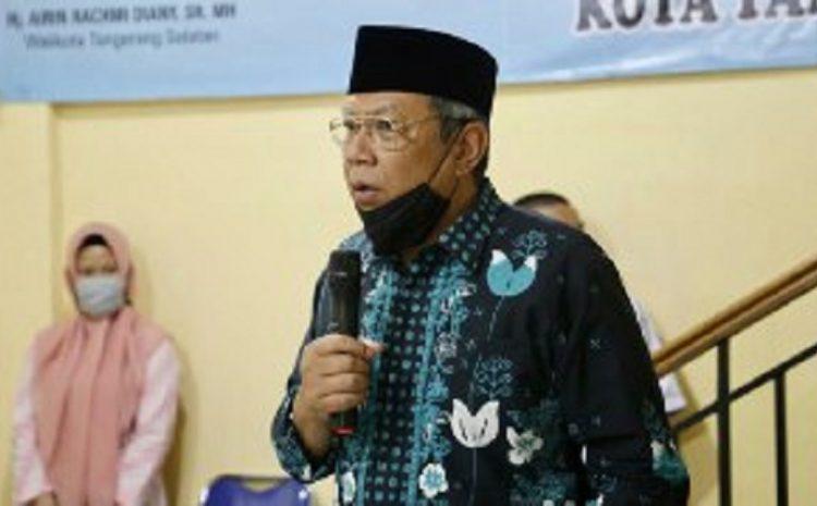 Wakil Walikota Tangerang Selatan Benyamin Davnie Buka Pelatihan Sablon Di Serpong