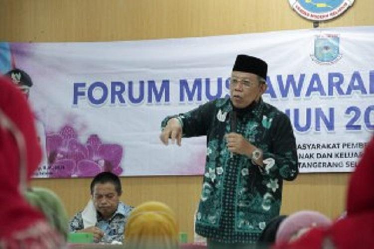 Wakil walikota Benyamin Davnie Ingatkan Warga Pentingnya Ber-KB