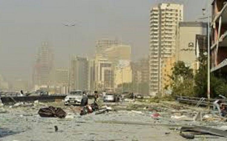 Ledakan di Beirut, Lebanon