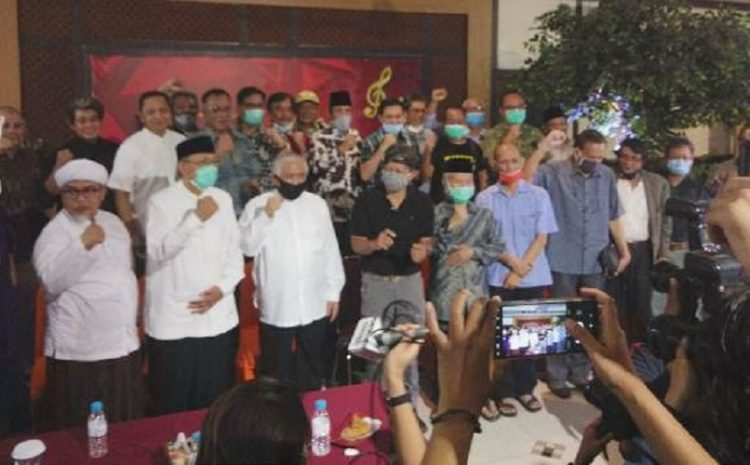Sejumlah Tokoh Serta Akademisi Deklarasi Koalisi Aksi Menyelamatkan Indonesia