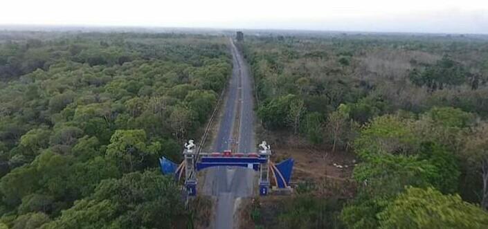 """""""Ring Road"""" Ikon Kabupaten Muna Barat Sulawesi Tenggara"""