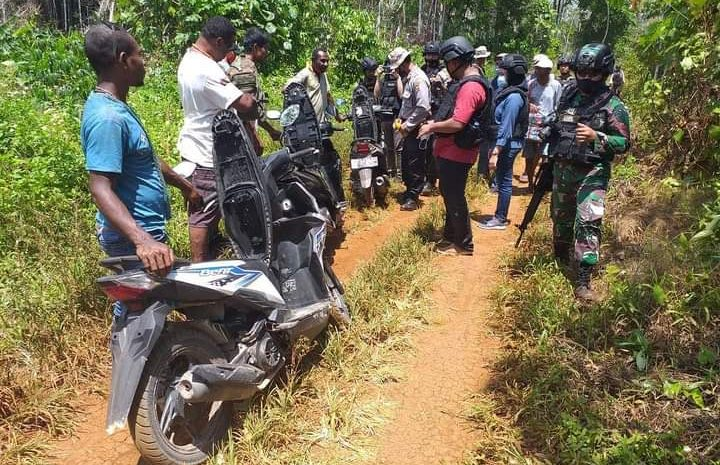 Aparat Gabungan Gelar Patroli Lintas Batas Perbatasan RI-PNG