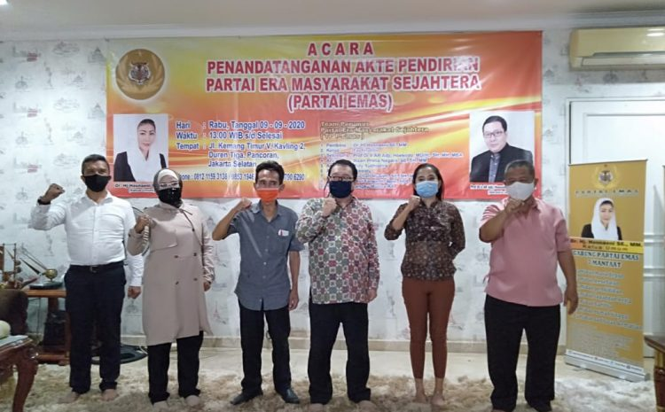 Partai Era Masyarakat Sejahtera Proses Pengaktean Sesuai Prosedur Hukum