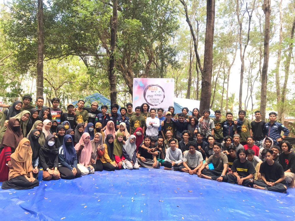 PMI/ Kessos Camp Dan Seremonial Milad Dirangkaikan Bhakti Sosial