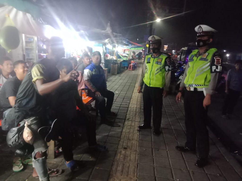 Rutin Laksanakan KKYD, Ini Upaya Ditlantas Polda Banten Himbau Protokol Kesehatan