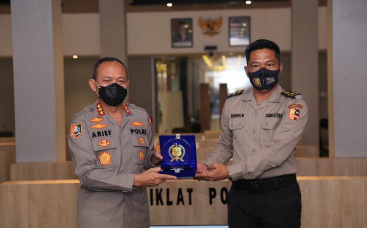 Kalemdiklat Polri Memberikan Pembekalan Kepada Calon Perwira Sekolah Inspektur Polisi Angkatan 49 Tahun 2020