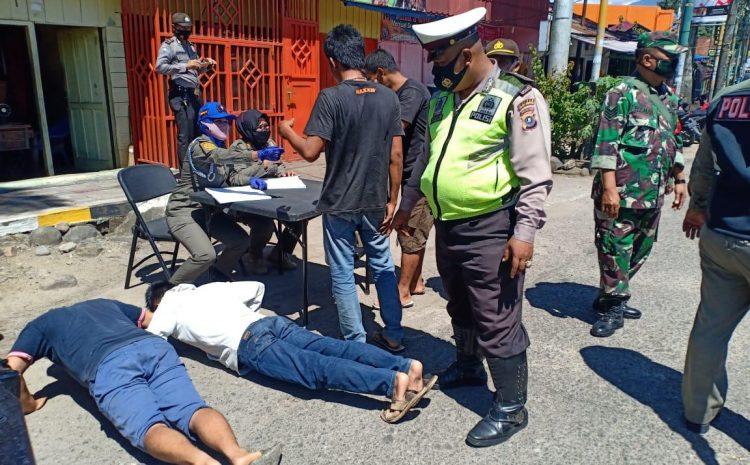 Polres Padang Sidimpuan Gencar lakukan Penindakan Masyarakat Acuhkan Anjuran Protokol Kesehatan