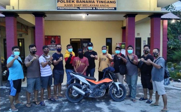 Polres Pulang Pisau Bekuk Pelaku Curanmor Di Kecamatan Banama Tingang