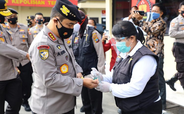 Hari Kedua Supervisi Ops Aman Nusa II, Kabaharkam Polri Kunjungi Polres Sergai