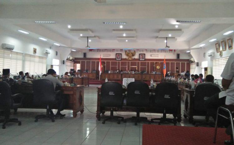 Banggar DPRD Labuhanbatu Minta OPD Tidak Laksanakan Proyek Pembangunan Fhisik TA 2020