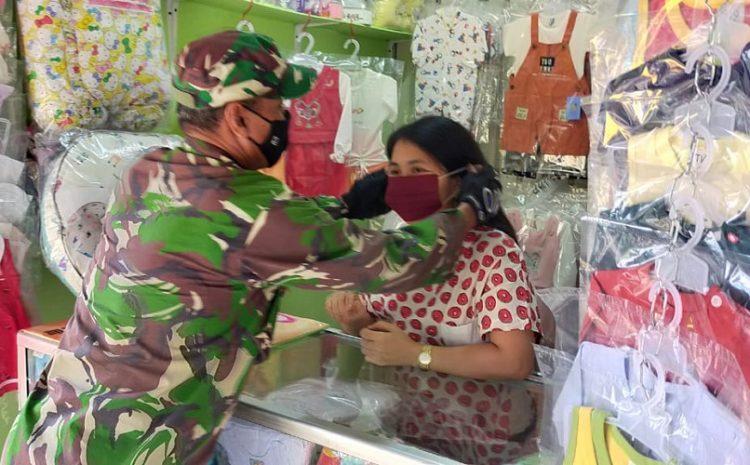 Kodim 0505/JT Melaksanakan Karya Bakti Di Jalan Lapangan Tembak Arundina Dan Pasar Cibubur