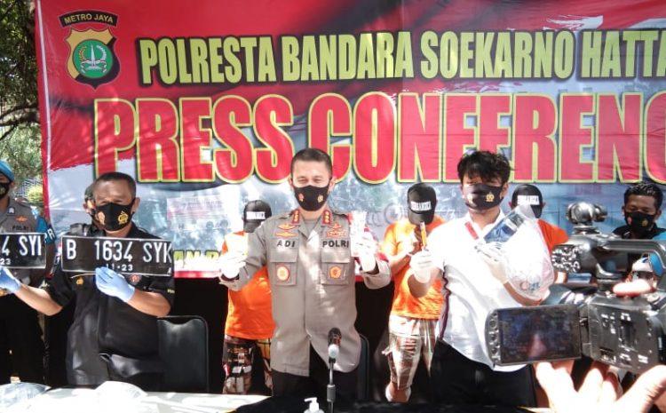 Wartawan Gadungan Berhasil Diringkus Team Garuda Polres Bandara Soeta (Modus Bius Minuman)