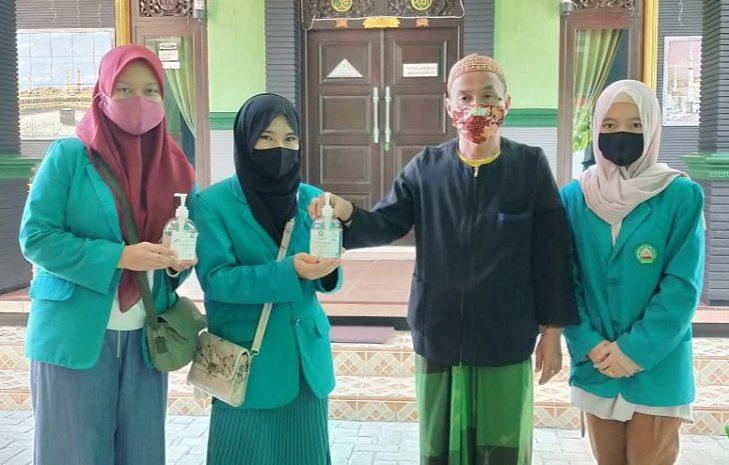 Mahasiswa KKN Unisma Sosialisasi Upaya Pencegahan Covid-19 Desa Montok Pamekasan
