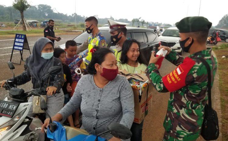Polsek Pagedengan Melaksanakan Operasi Yustisi Gabungan