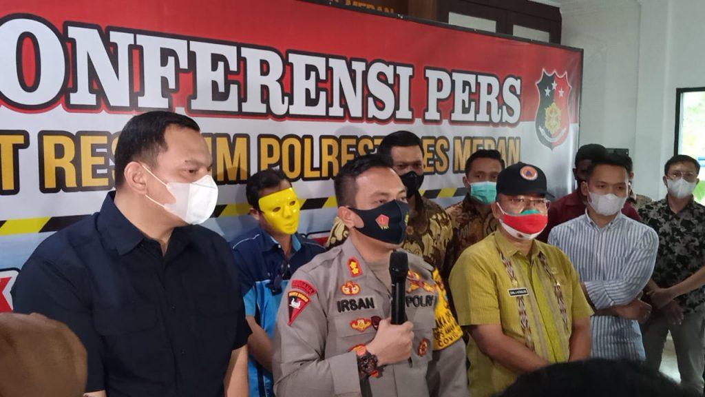 Lokasi Hiburan Hairos Viral Di Medsos, Polrestabes Medan Tetapkan GM Sebagai Tersangka
