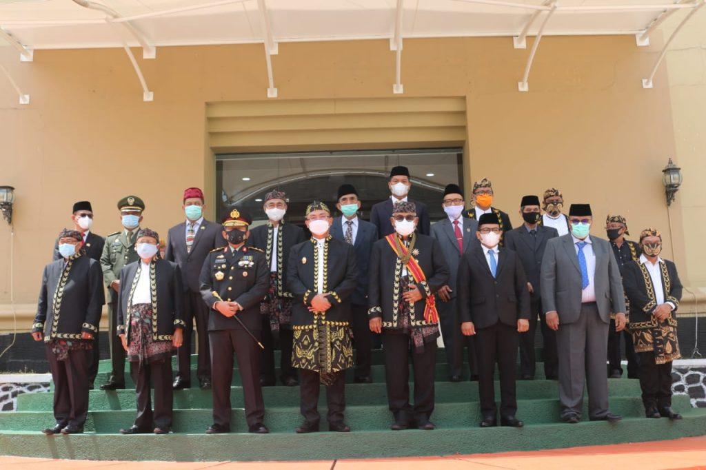 Kapolda Banten Menghadiri Rapat Paripurna Istimewa DPRD Provinsi Banten
