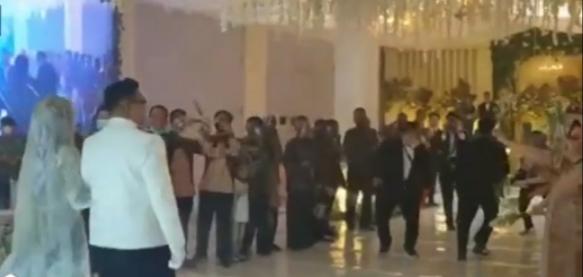 Oknum Polisi Gelar Perayaan Resepsi Pernikahan Mewah Meriah Tanpa Protokol Kesehatan Di Labuhanbatu