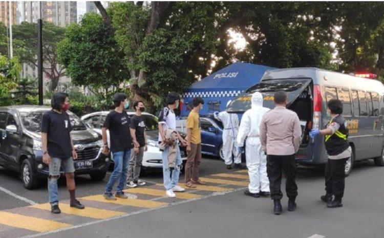 Kelompok Anarko Yang Mau Demo DPR Tes Rapid,10 Orang Reaktif
