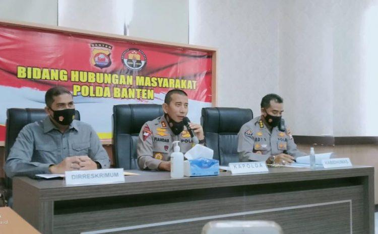Polda Banten Amankan 14 Orang Dalam Aksi Unjuk Rasa Mahasiswa Di Depan Kampus UIN Serang