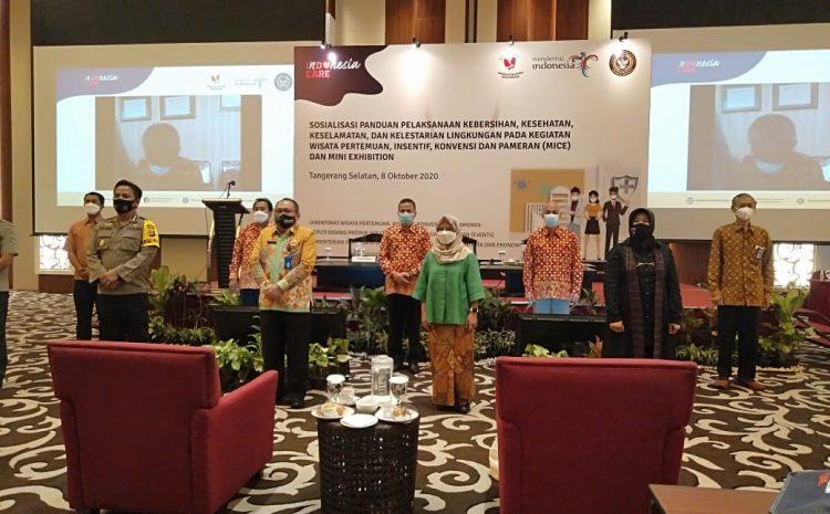 """Kemenparekraf & INACEB"" Insentif Konvensi Dan Pameran 9 Destinasi Mice Provinsi Banten"