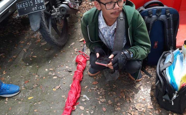 Polisi Tangkap Pendemo Bawa Klewang Saat Aksi Di DPRD Sumut